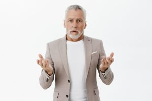 Older man unsure whether he should get dentures or not